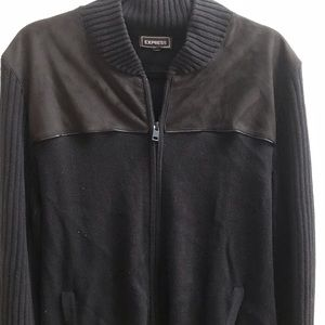 Express black mens sweater🍁